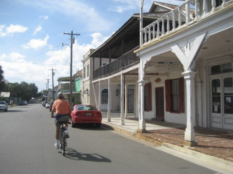 Bike Florida, Cedar Key, Downtown B Street