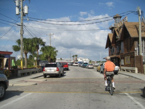 Bike Florida, Cedar Key, Dock Street