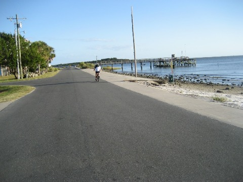 Bike Florida, Cedar Key, G Street