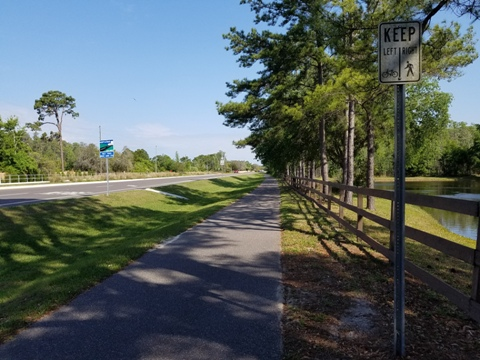 Bike Florida, Starkey Blvd. Trail, Florida Coast to Coast Trail
