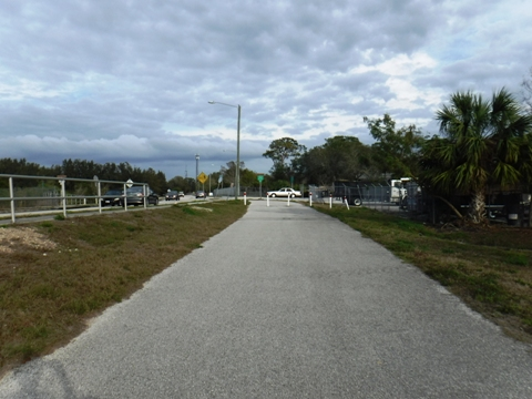 Bike Florida, Pinellas Trail, Tarpon Springs, Keystone Rd.