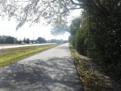 Bike Florida, Pinellas Trail, East Lake Road