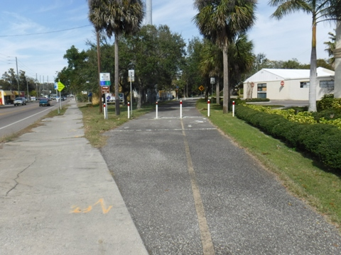 Bike Florida, Pinellas Trail, clearwater