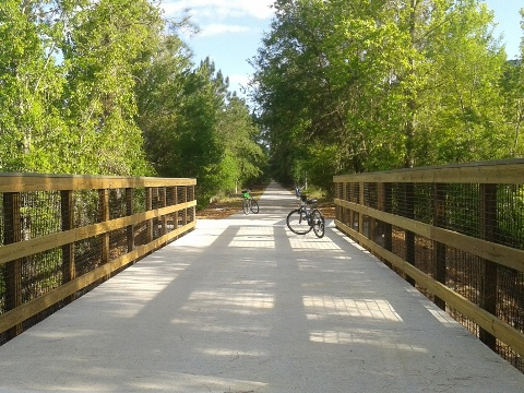 Van Fleet State Trail, Florida top 10 bike trail