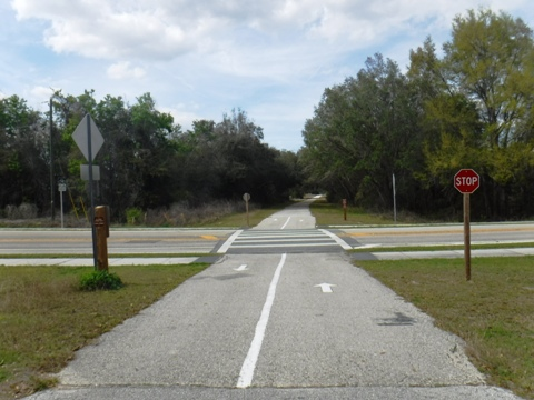 Withlacoochee State Trail, South Citrus Springs to Gulf Junction